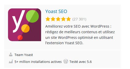 Yoast SEO Le plugin de référencement de wordpress le plus populaire